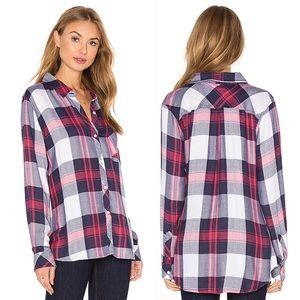 Rails | Hunter Plaid Button Front Shirt